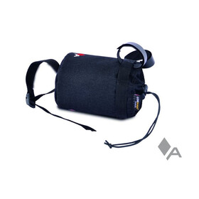 Acepac Fat Bottle Bag Borsello nero